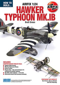 How to Build the Airfix 1:24 Hawker Typhoon Mk.IB Book Preview (ADH Publishing)