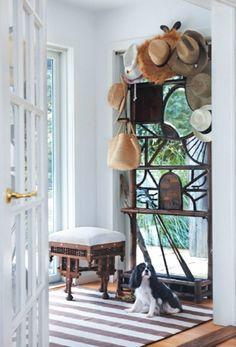 Hats ▇  #Home #Design #Decor  via IrvineHomeBlog - Christina Khandan - Irvine, California ༺ ℭƘ ༻