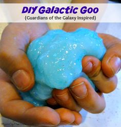 DIY Galactic Goo + Special Guardians of the Galaxy Offer #ad #ownthegalaxy