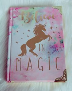 Magic Unicorn notebook