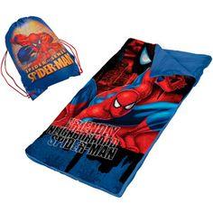 Spider-Man Sling Bag Slumber Set