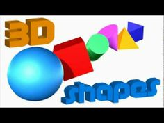 This video is about 3D Shapes.  It is an educational video for young children, toddlers, and preschool students.  Shapes are: Sphere, Cube, Cone, Cylinder, Pyramid, and Prism.