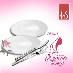 Celebrating the elegance of womanhood. Wishing you a very happy Women's Day from team FnS!!!