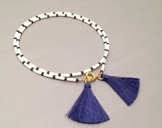 Gift for Her Friendship Bracelet Beaded Bracelet by feltlikepaper