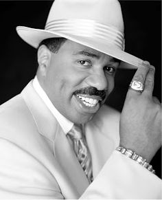 Steve Harvey ... dude is SO funny! Check out his show dates today!