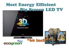 LED TV: Most Energy Efficient Big Screen 60 inch