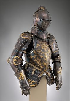 Foot-Combat Armor of Prince-Elector  Christian I of Saxony (reigned 1586–91)