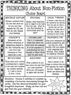 The Curious Apple: Differentiated Instruction nonfiction organizers