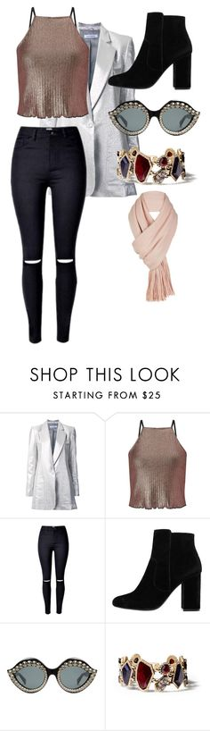 """""""So that happened..."""" by red-queenlove on Polyvore featuring Bianca Spender, Miss Selfridge, MANGO, Gucci, Chloe + Isabel and Free People"""