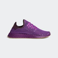 "Diehard fans of the worldwide hit anime, Dragon Ball Z, are going to love the Adidas Dragon Ball Z Deerupt Runner ""Son Gohan"". Adidas Men, Adidas Sneakers, Men's Shoes, Dress Shoes, Runners Shoes, Best Mens Fashion, Dragon Ball Z, Nike Free, Adidas Originals"