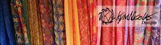 Kym Nicolas Designs, eco-fabric designs made from recycled bottles and homegoods. Klamath Falls, Oregon. 2014 Martha Stewart American-Made Design Finalist.