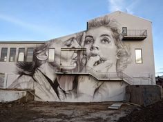 Gigantic Wall Portraits – Fubiz™