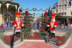 Christmas at Disney World, Magic Kingdom...I cannot wait to go here Christmas 2014!!!!