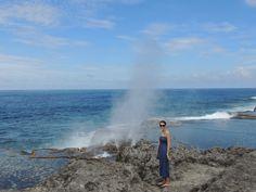 Tongatapu Island tour, Blow holes – Viatori #travelpics #tonga #travel