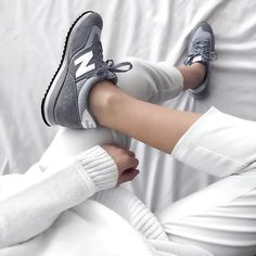 Sneakers femme - New Balance (©jacquiealexander)