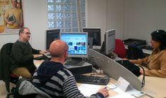 Personal de técnico Help Desk y programación.