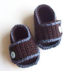 Descargar ahora CROCHET sandalias de bebé por hollanddesigns