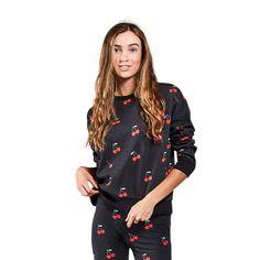 MON CHERIE BLACK ADULT SWEATER – KipCo Fleece Sweater, Cotton Fleece, Mon Cheri, Beautiful Hands, Sweaters, Gifts, Black, Presents, Black People