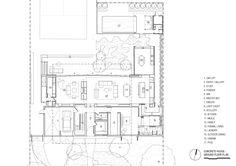 Concrete House,Ground Floor Plan