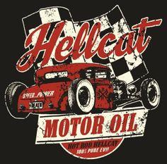 Shirt Mec Hotrod Hellcat Motor Oil Rockagogocom T Shirts Pictures