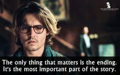 - Johnny Depp in Secret Window 2004