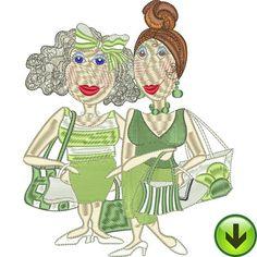 Shop Green Embroidery Design |  HERUNTERLADEN