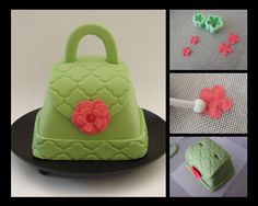 Cupcake Envy: Fashionable Purse Cakelets