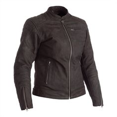 Ripley Ladies Leather Jacket Leather Collar, Leather Cuffs, Cowhide Leather, Leather Jacket, Motorcycle Leather, Motorcycle Outfit, Motorcycle Jacket, Motorbike Jackets, Motorbike Leathers