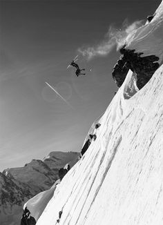 Skiing inspiration for the upcoming winter. #freeski