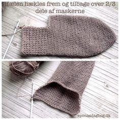 Hæklede sokker Crochet Socks, Knit Crochet, Wrist Warmers, Boot Cuffs, Sock Shoes, Gloves, Wool, Knitting, Accessories