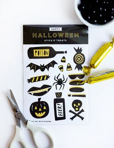 Printable Halloween Stickers