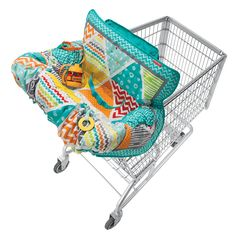 Amazon.com : Infantino Compact Cart Cover, Teal : Baby