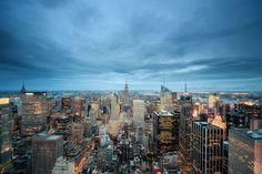 blue hour NY
