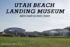 Utah Beach Landing Museum in Sainte-Marie-du-Mont, France (Musée du Débarquement Utah Beach) is a must visit, it is the best museum in the D-Day area! D Day, France Travel, Day Trip, Fun Activities, Landing, Utah, Places To Go, Things To Do, Germany