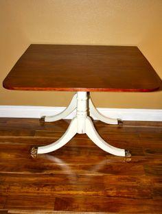 8 best drop leaf table makeover images furniture redo drop leaf rh pinterest com