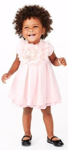 Adorable dress and flats for your little girl.