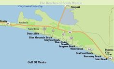 Coastal counties in florida maps of florida and list of beaches pinterest for Northwest exteriors santa rosa