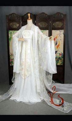 Pretty Outfits, Pretty Dresses, Beautiful Dresses, Set Fashion, Asian Fashion, Oriental Dress, Chinese Clothing, Chinese Dresses, Fairy Dress