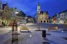 Reconstruction of the Square in Frydlant / Balda architeckt