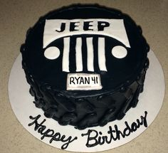 Another Jeep cake