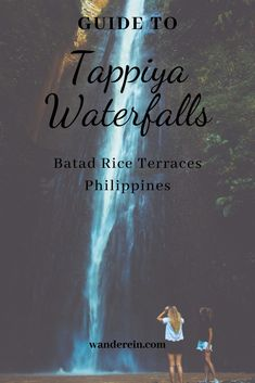 If you only had one day in Batad, you can visit the Tappiya waterfalls and enjoy the walk through the UNESCO World Heritage Rice Terraces. The Way Back, Way Down, Banaue Rice Terraces, Philippine Tours, Local Tour Guides, I Want To Travel, Waterfalls, Places To See