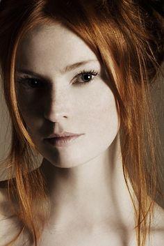 Beautiful natural redhead