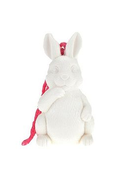 White Rabbit Soap on a Rope