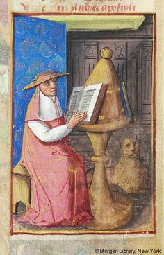 Book of Hours, MS M.1054 fol. 11v - Images from Medieval and Renaissance Manuscripts - The Morgan Library & Museum