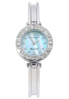 Bvlgari B.Zero1 Turquoise Pearl with Stainless Steel Band Lady's Watch  , cheap Bvlgari Watch discount