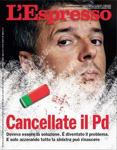 La copertina dell'Espresso in edicola da domenica 8 aprile