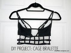Cage Bralette // 19 '90s-Inspired DIYs
