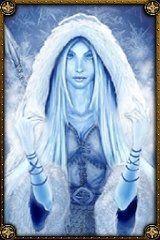 Skadi, goddess of winter and hunting