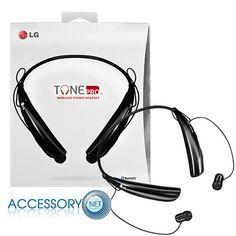 LG Tone PRO HBS-750 Black Wireless Stereo Headset Bluetooth Retail Pack #LG