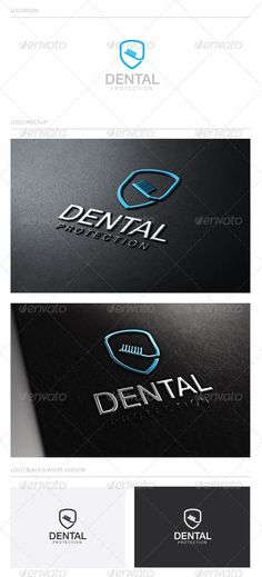 DentalProtection — Vector EPS #security #mouth • Available here → https://graphicriver.net/item/dentalprotection/2311086?ref=pxcr